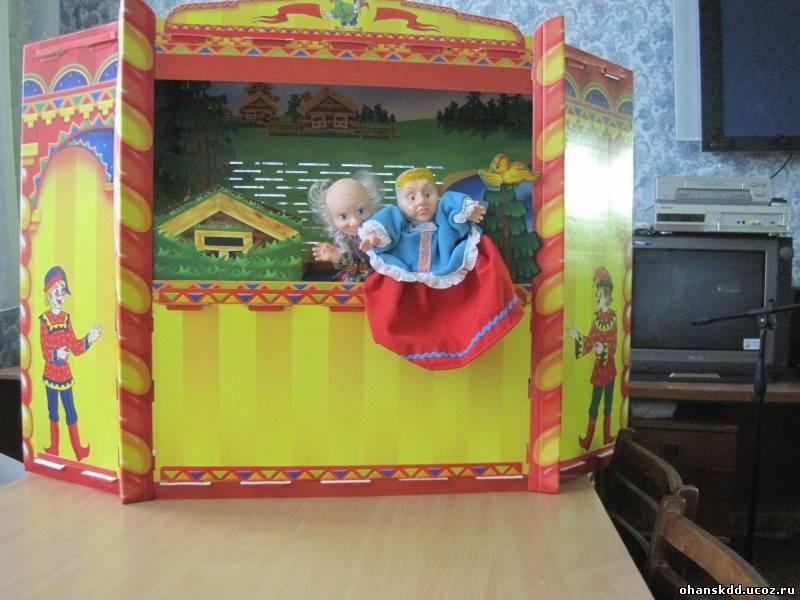 Как сделать ширму для детского кукольного театра 193